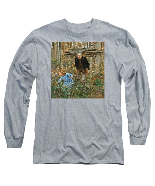The Wood Gatherer Long Sleeve T-Shirt