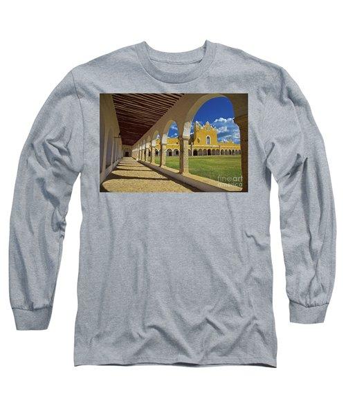 The Yellow City Of Izamal, Mexico Long Sleeve T-Shirt