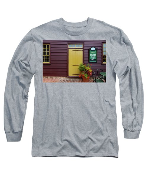 The Yellow Door In Annapolis Long Sleeve T-Shirt