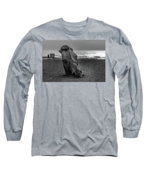 The Youth And The Horsehead Long Sleeve T-Shirt