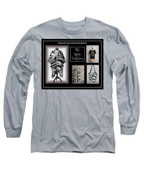 The Zebra Collection Long Sleeve T-Shirt by Geraldine Alexander
