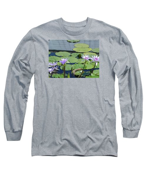 Long Sleeve T-Shirt featuring the photograph Their Own Kaleidoscope Of Color by Chrisann Ellis