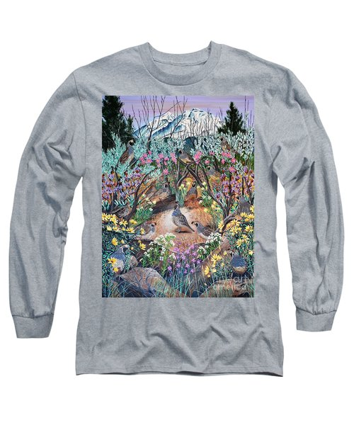 There's One In Every Crowd Long Sleeve T-Shirt by Jennifer Lake