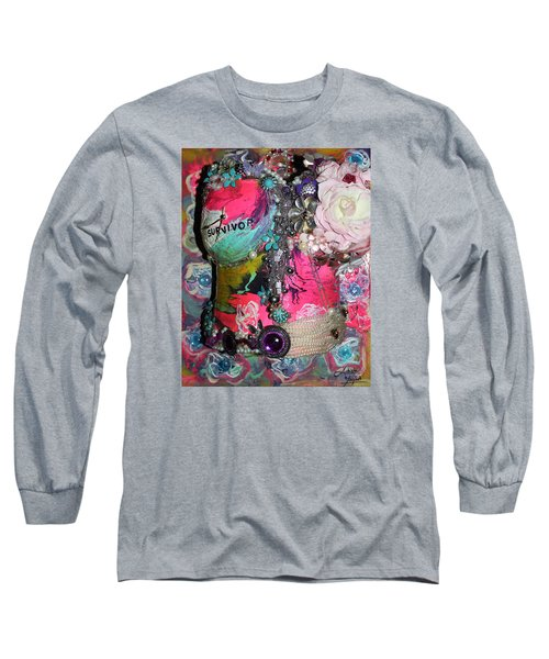 Therese - In The Garden Of My Heart Long Sleeve T-Shirt