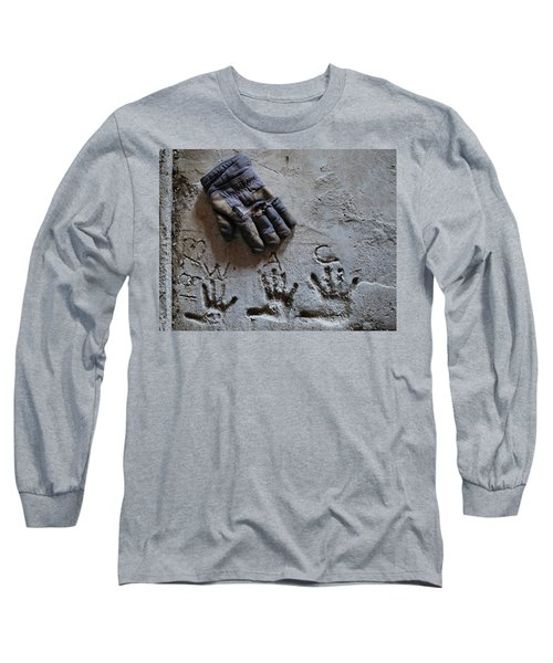 Long Sleeve T-Shirt featuring the photograph Things Left Behind by Susan Capuano