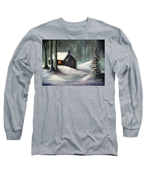 Thinking Warm Thoughts Of You Long Sleeve T-Shirt by Hazel Holland
