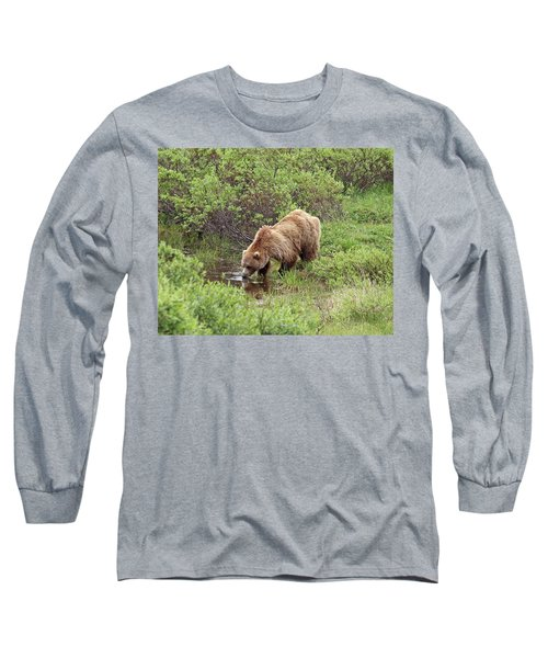 Thirsty Grizzly Long Sleeve T-Shirt