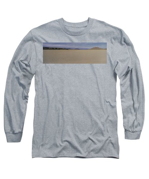 This Is A Dry Lake Pattern Long Sleeve T-Shirt