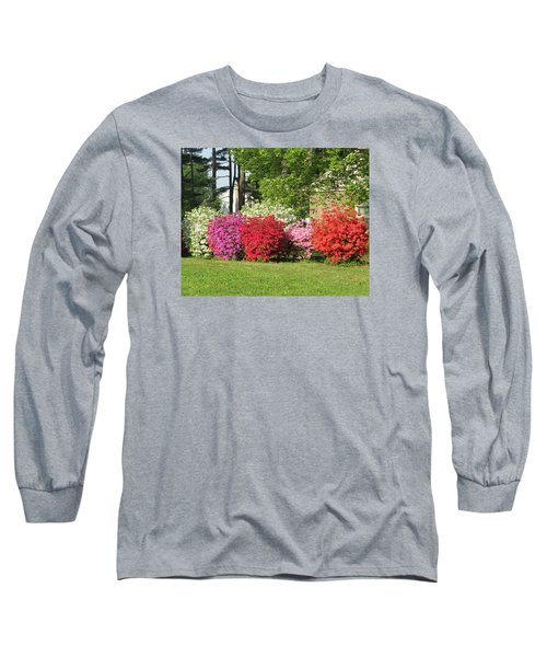 This Is Spring In Pa Long Sleeve T-Shirt by Jeanette Oberholtzer