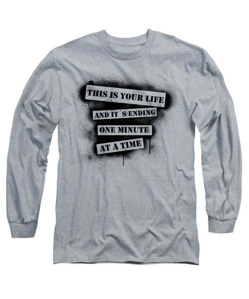 This Is Your Life - Fight Club Long Sleeve T-Shirt by Nicklas Gustafsson