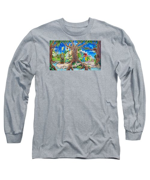 This Magical Land Long Sleeve T-Shirt by Matt Konar