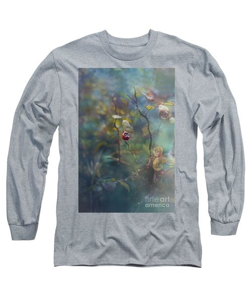 Thorns And Roses Long Sleeve T-Shirt by Agnieszka Mlicka