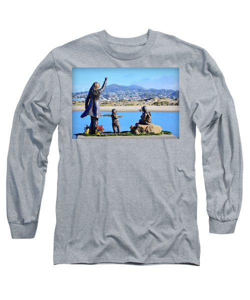 Long Sleeve T-Shirt featuring the photograph Those Who Wait by AJ Schibig