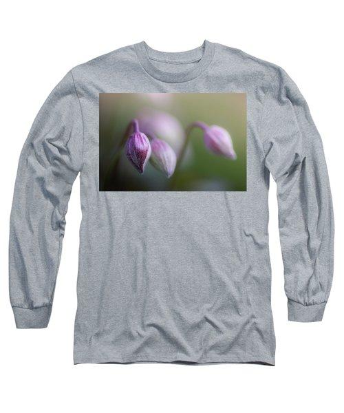 Three Buds Long Sleeve T-Shirt by Peter Scott