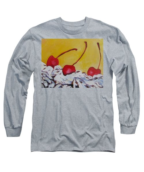 Three Cherries Long Sleeve T-Shirt