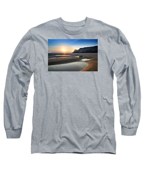 Three Cliffs Bay 2 Long Sleeve T-Shirt
