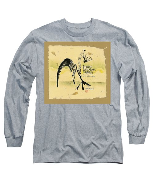 Three E's Long Sleeve T-Shirt