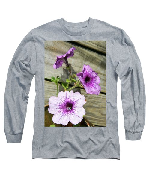 Three For Me Long Sleeve T-Shirt