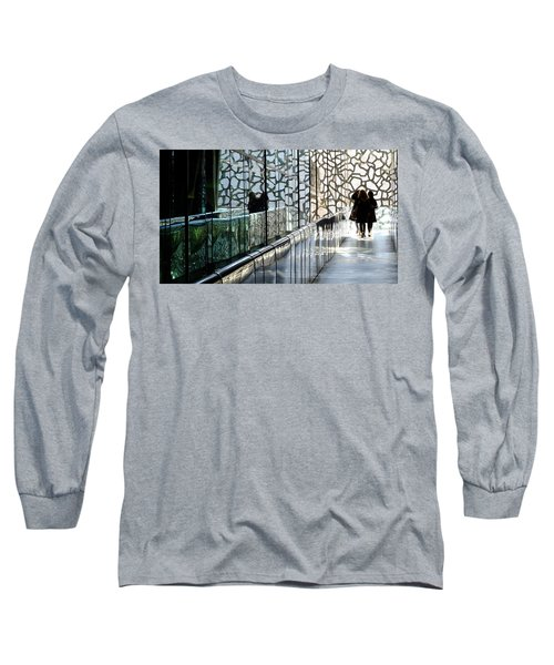 Long Sleeve T-Shirt featuring the photograph Three Ladies by August Timmermans