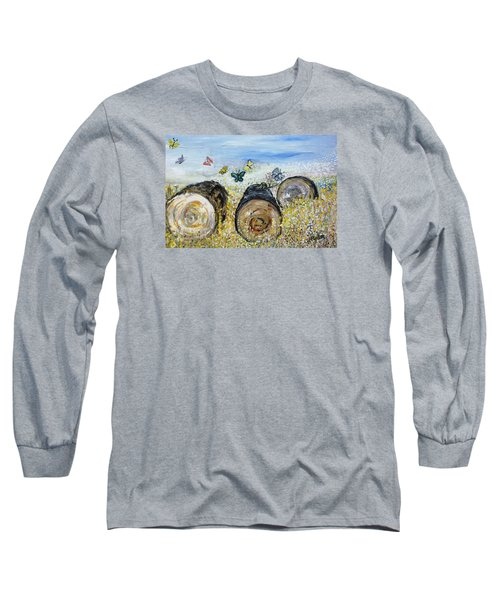 Three Logs Long Sleeve T-Shirt
