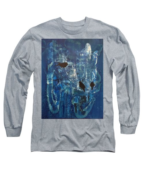 Three Of Us Long Sleeve T-Shirt