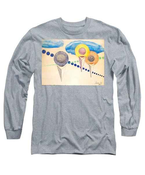 The Recession Of Depression 2 Long Sleeve T-Shirt by Rod Ismay