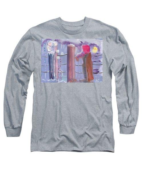 Three Pillars Long Sleeve T-Shirt