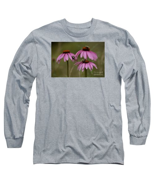 Long Sleeve T-Shirt featuring the photograph Three by Randy Bodkins