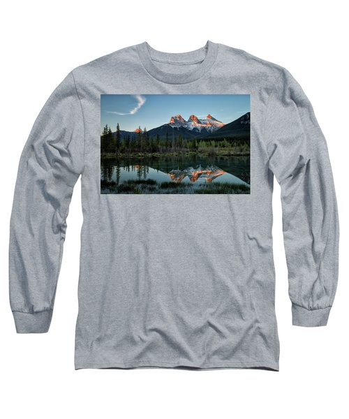 Three Sisters Sunrise Long Sleeve T-Shirt