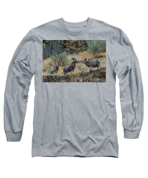 Three's Company Long Sleeve T-Shirt by Steve Warnstaff