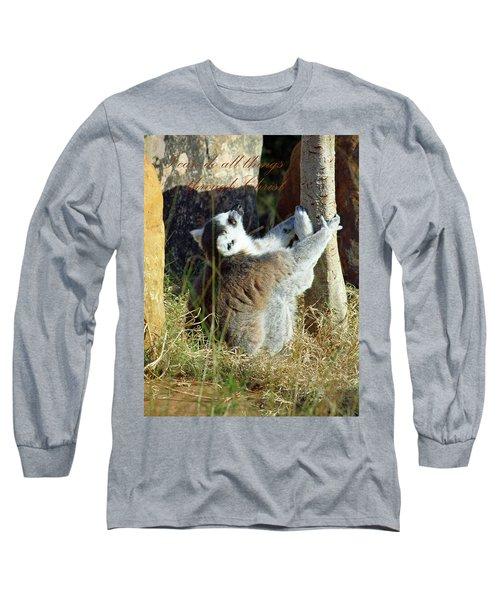 Through Christ Long Sleeve T-Shirt