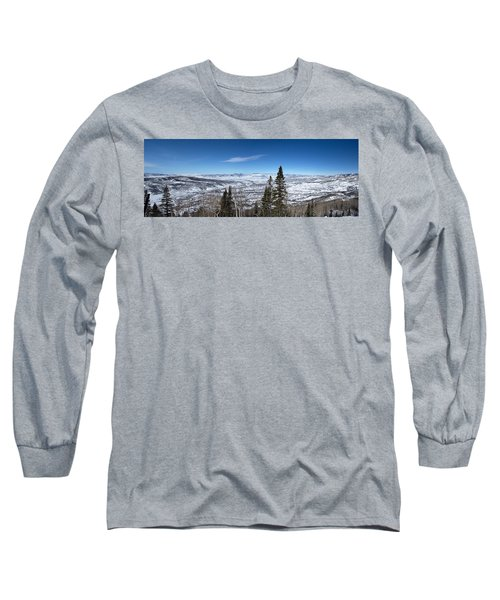 Through The Pines Long Sleeve T-Shirt by Sean Allen