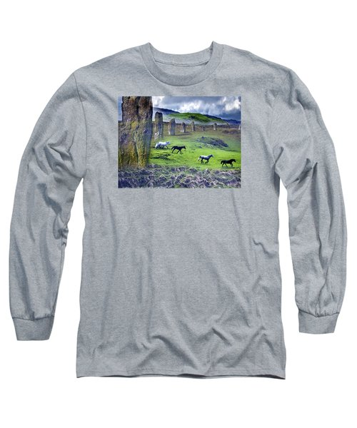 Through The Standing Stones Long Sleeve T-Shirt