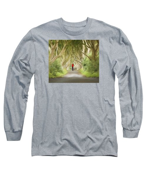 Through The Trees Long Sleeve T-Shirt by Roy  McPeak