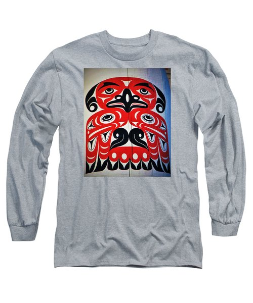 Thunderbird  Long Sleeve T-Shirt by Martin Cline