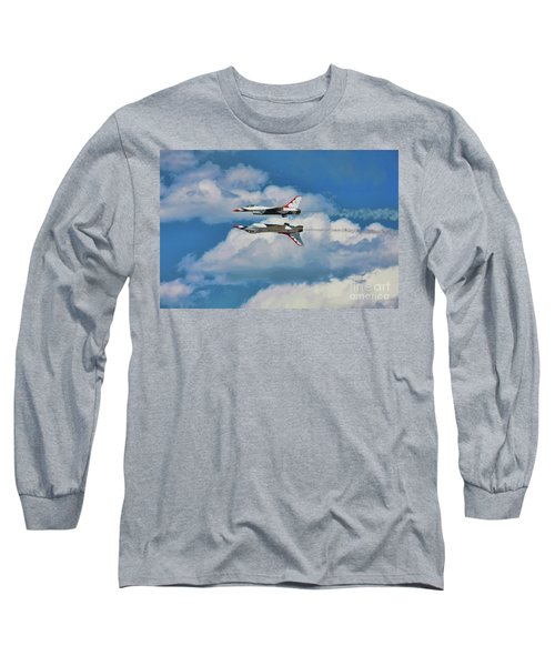 Thunderbirds Inverted Long Sleeve T-Shirt