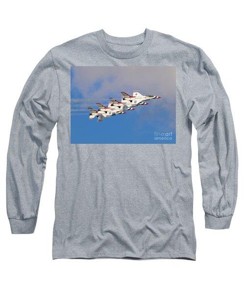 Thunderbirds Stacked 2 Long Sleeve T-Shirt