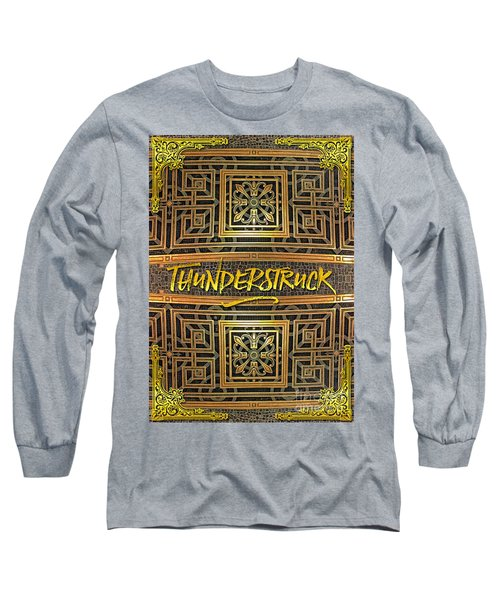 Thunderstruck Opera Garnier Ornate Mosaic Floor Paris France Long Sleeve T-Shirt
