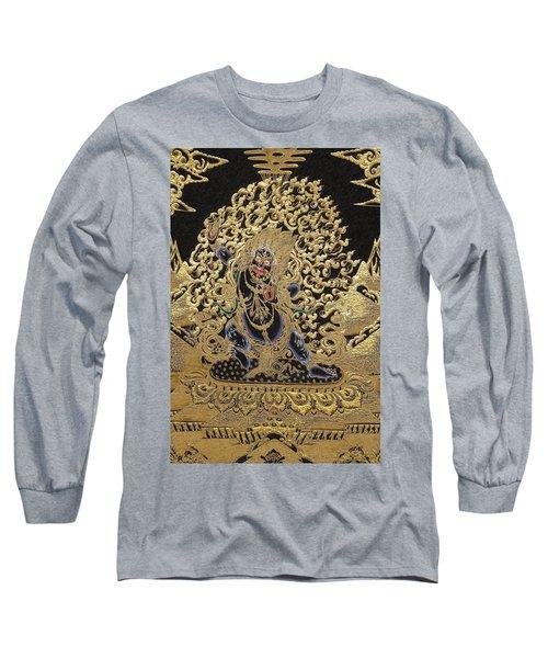 Tibetan Thangka - Vajrapani  Long Sleeve T-Shirt