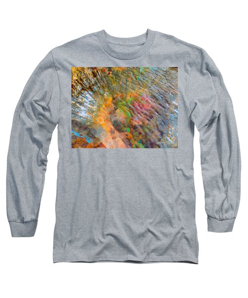 Tidal Pool And Coral Long Sleeve T-Shirt