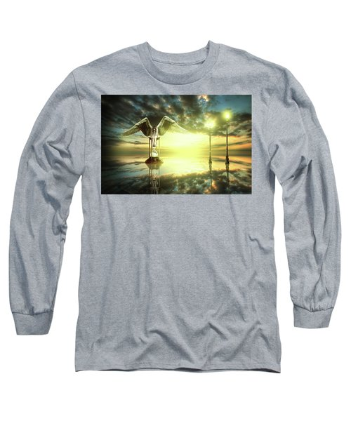 Time To Reflect Long Sleeve T-Shirt by Nathan Wright