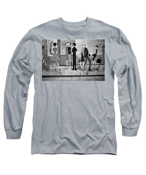 Tiffany Mural Long Sleeve T-Shirt