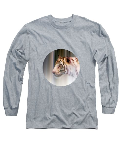 Tiger In The Mist Long Sleeve T-Shirt
