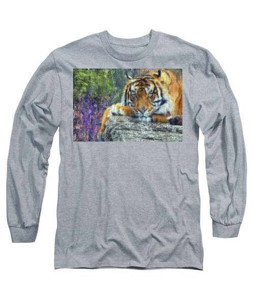 Tigerland Long Sleeve T-Shirt by Michael Cleere