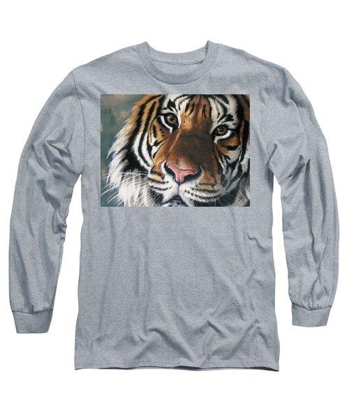 Tigger Long Sleeve T-Shirt by Barbara Keith