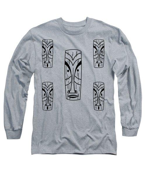 Tikis  Long Sleeve T-Shirt