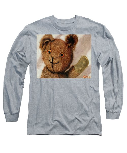 Tillie - Vintage Bear Painting Long Sleeve T-Shirt