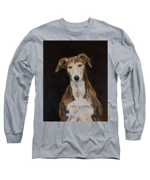 Tilly The Lurcher Long Sleeve T-Shirt
