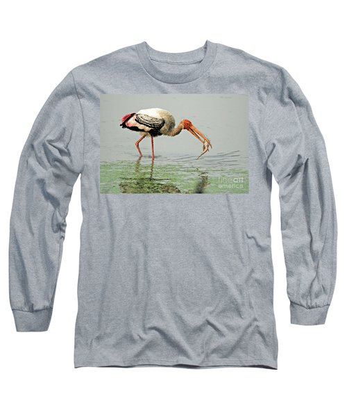 Time For A Meal Long Sleeve T-Shirt by Pravine Chester