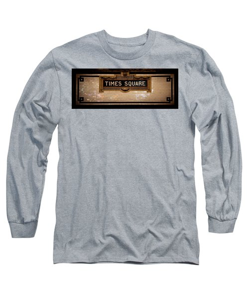 Time Square Long Sleeve T-Shirt